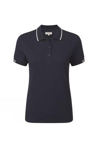 Aigle Womens Rosopolo Shirt Dark Navy