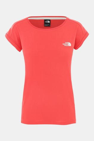 The North Face Womens Tanken Tank Cayenne Red/TNF White