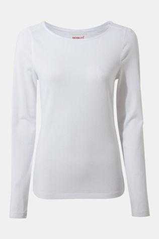 Craghoppers Womens NosiLife Shelby Long Sleeved T-shirt Optic White