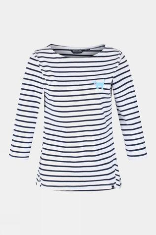 Regatta Women's Polina L/S Tee White stripe