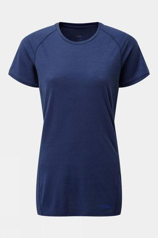 Rab Womens Forge Short Sleeve Top Blueprint