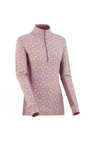 Women's Rose Half Zip Top