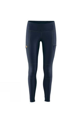 Fjallraven Fjall Womens Abisko Trail Tights Navy / Dark Navy