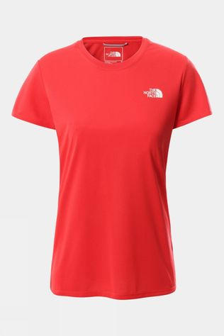 The North Face Women's Reaxion Amp Crew Horizon Red