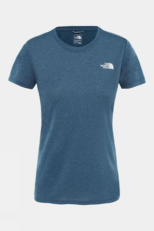 The North Face Women's Reaxion Amp Crew Blue Wing Teal Heather