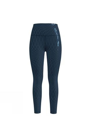 Odlo Womens Lou Medium Tights Blue Wing Teal