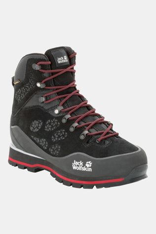 Jack Wolfskin Wilderness Peak Texapore Mid Boot Black / Red
