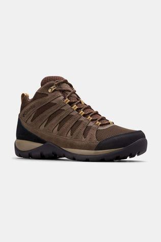 Columbia Mens REDMOND V2 MID Waterproof Hiking Boot Cordovan/Baker