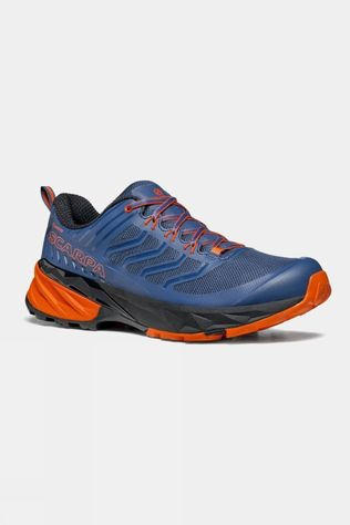 Scarpa Mens Rush GTX Shoe Blue/ Fiesta