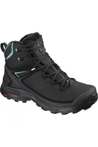 Salomon Womens X Ultra Mid Winter Cs Wp Black/Phantom/Trellis