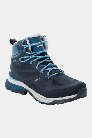 Jack Wolfskin Womens Force Striker Texapore Mid Boot Dark Blue / Light Blue