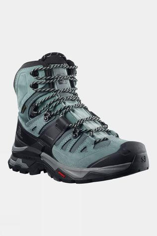 Salomon Womens Quest 4 GTX Hiking Boot Slate/Trooper/Opal Blue