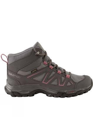 Salomon Women's Tibai Mid Boot Quiet Shade/Magnet/Malaga