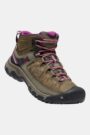 Keen Womens Targhee III Mid Water Proof Boot Weiss/Boysenberry