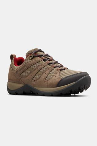 Columbia REDMOND V2 Waterproof Hiking Shoe Pebble/Beet
