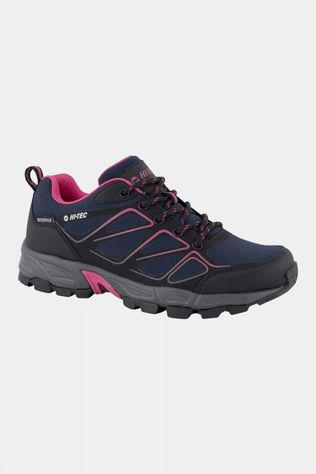 Hi-Tec Women's Ripper Low WP Shoe  Navy Black/Magenta