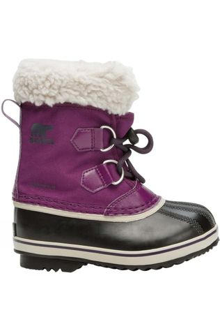 Sorel Kids Yoot Pac Nylon Boot Wild Iris/Dark Plum