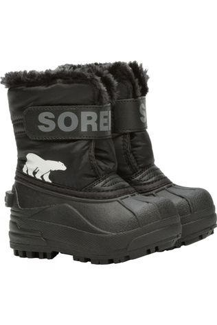 Sorel Toddler Snow Commander Boot Black, Charcoal