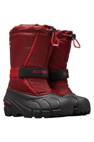 Sorel Youth Flurry Boot 14+ Red Jasper, Mou