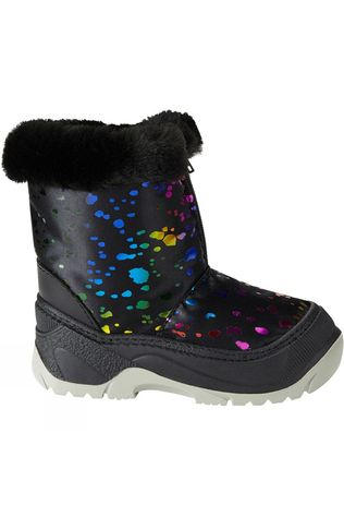 Calzat Children's Zip Snow Boot Multi Black Multicolour/Black