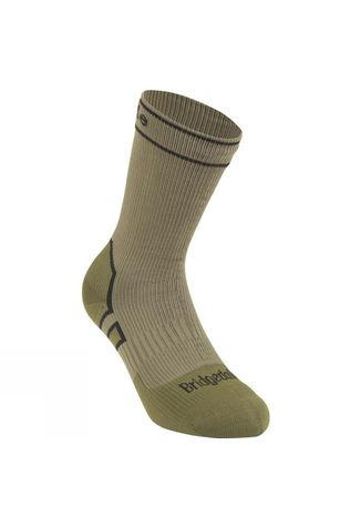 Bridgedale Midweight Boot Length Stormsock Khaki/Olive