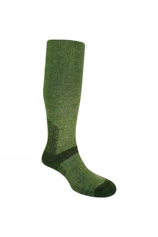 Bridgedale Mens Heavyweight Merino Endurance Knee Length Sock Olive/Dark Green