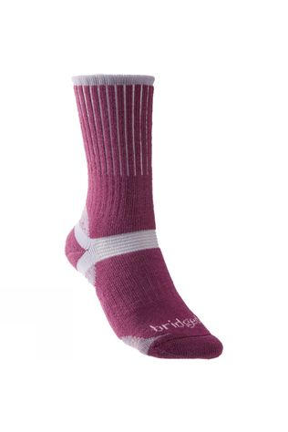 Bridgedale Womens Merino Hiker Sock Berry