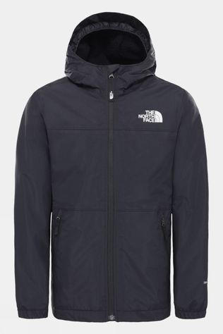 The North Face Boy's Warm Storm Rain Jacket TNF Black