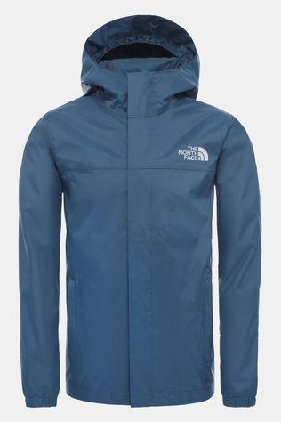 The North Face Boys Resolve Rain Jacket 14+ Blue Wing Teal