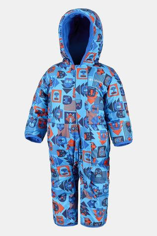Columbia Boys Snuggly Bunny 1 Piece Super Blue Critter Block Print