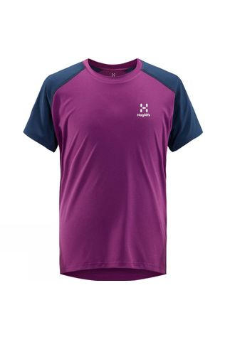 Haglofs Youth Tech Tee Lilac / Tarn Blue
