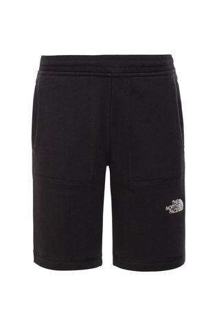 The North Face Youth Fleece Short TNF Black/TNF White