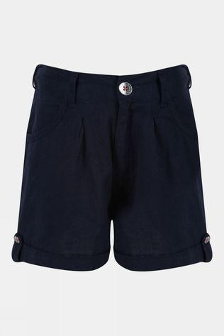 Regatta Girls Delicia Coolweave Short Navy