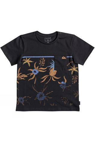 Quiksilver Kids Stack For Days Youth Tee 14+ Tarmac
