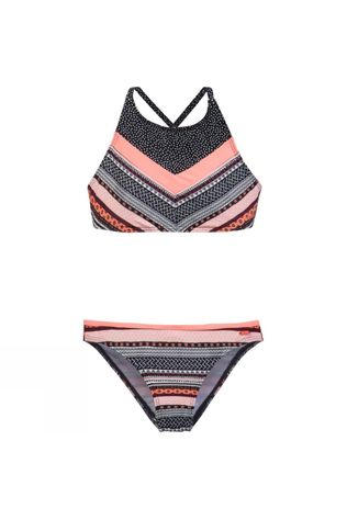 Protest Girls Trendy Jr Bikini Coral Blaze
