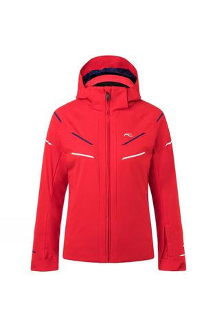 KJUS Boys Formula DLX Jacket Scarlet/Into The Blue