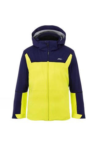 KJUS Boys Speed Reader Jacket 14+ Citric Yellow/Into The Blue