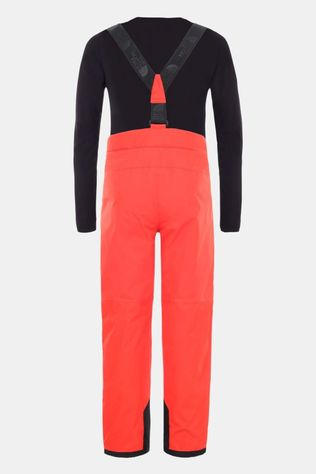 The North Face Youth Snowquest Suspender Plus Pant Fiery Red