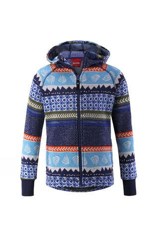 Reima Kids Northern Sweater Brave Blue Pattern