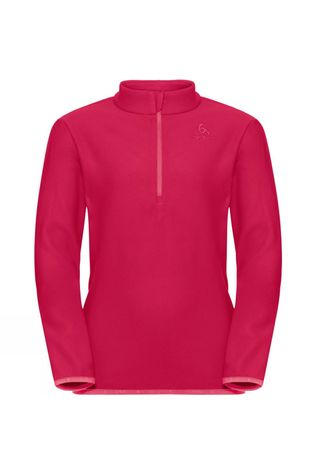 Odlo Kids Royale Half Zip Midlayer Fleece Cerise