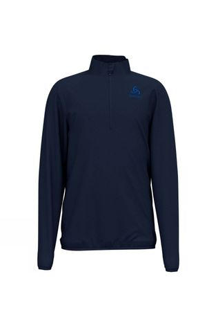 Odlo Kids Royale Half Zip Midlayer Fleece Diving Navy II