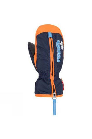 Reusch Kids Ben Mittens Dress Blue/ Orange Popsicle