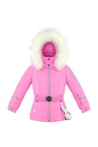Girls Mini Belted Ski Jacket