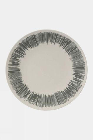 Vango Bamboo 28cm Dinner Plate Grey Stripe
