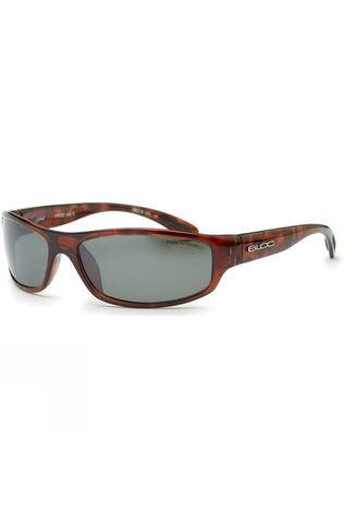 Bloc Hornet Sunglasses Shiny Tort/Green Polarised