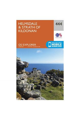 Ordnance Survey Explorer Map 444 Helmsdale and Strath of Kildonan V15