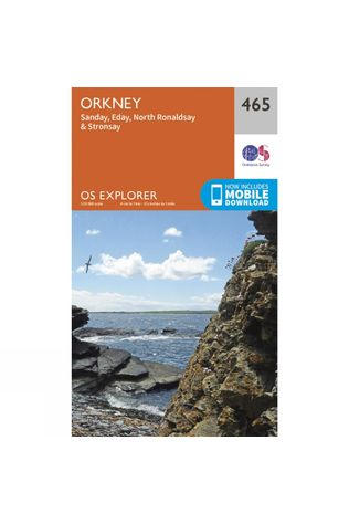 Ordnance Survey Explorer Map 465 Orkney - Sanday, Eday, North Ronaldsay and Stronsay V15