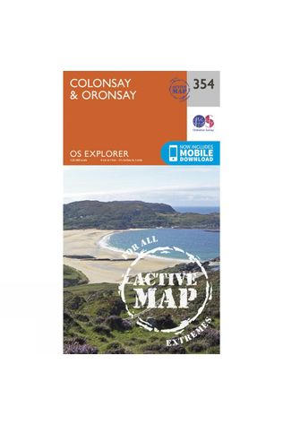 Ordnance Survey Active Explorer Map 354 Colonsay and Oronsay V15