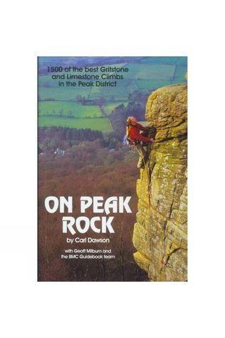British Mountaineering Council Cordee On Peak Rock No Colour