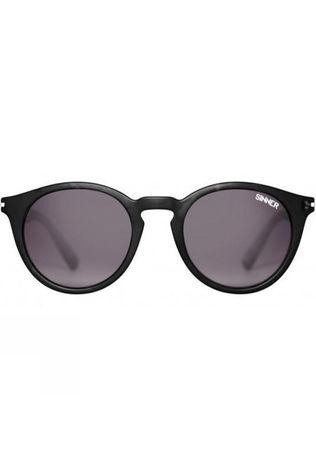 Sinner Patnem Sunglasses Clear Matt Black/Gradient Smoke